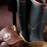 CLIVE BOZZARD-HILL PHOTOGRAPHY, LONDON-aigle wellington boots-aigle-tackle bag